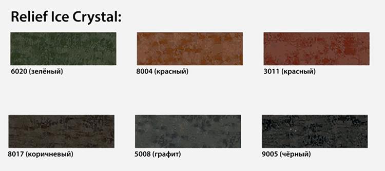 полимерное покрытие Айскристал